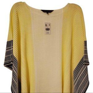 Ming Wang Poncho Style Tunic